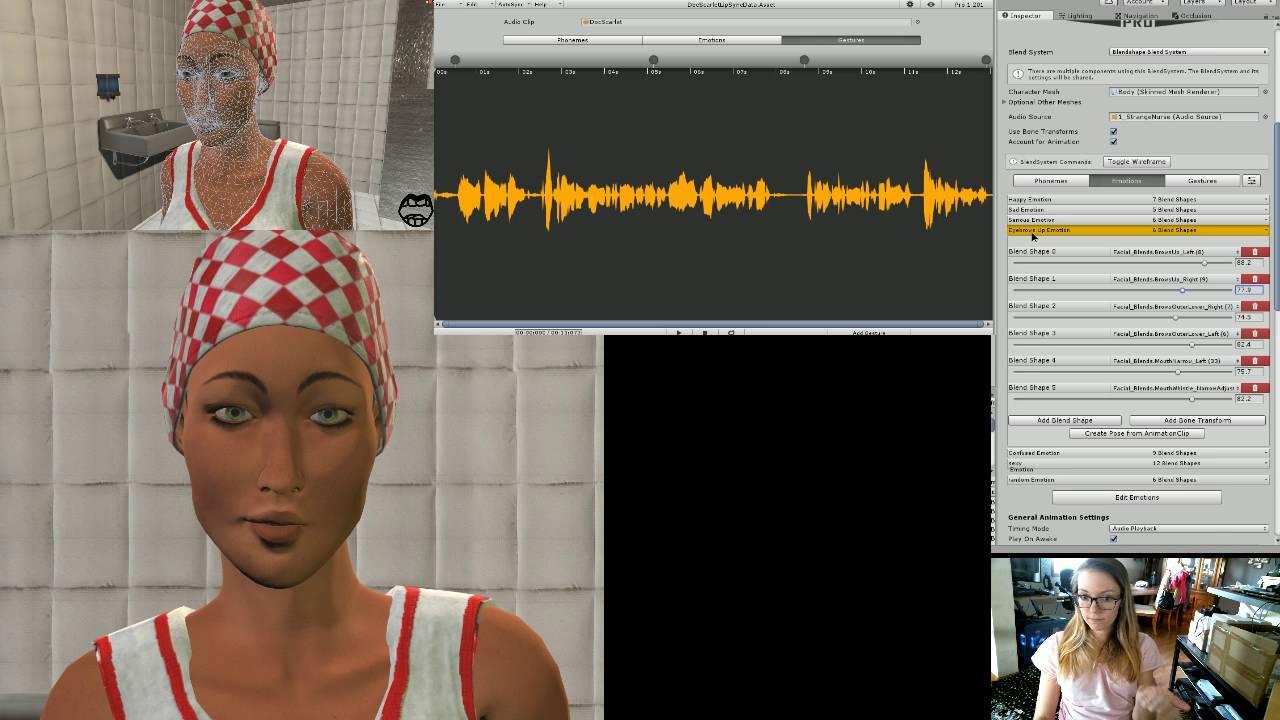 Unity 5 4 - Lip Sync Pro - Expressions Tutorial