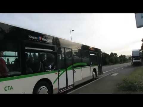 A bord du Mercedes-Benz O530 Citaro I n� sur la ligne E8 du réseau TAN de Nantes.