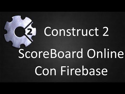 Creando un Score Board online con Firebase | Construct 2
