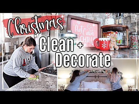 new!✨christmas-clean-+-decorate-with-me-2019-🎄-hot-cocoa-bar-+-room-makeover-::-christmas-home-tour