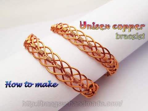 Comment Faire Un Bracelet En Cuivre Make A Copper Bracelet Youtube