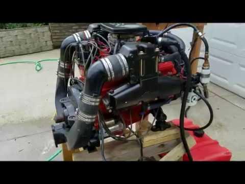 Rebuilt 1993 Mercruiser 260HP 4bbl 5.7L 350 Marine Engine [Sold]