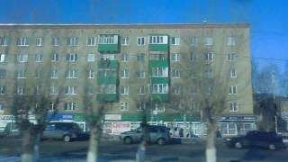 Выезд с автовокзала из г.Дюртюли в сторону г.Нефтекамск