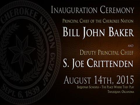 Cherokee Nation Inauguration Ceremony