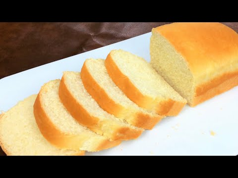 Homemade White Bread Recipe نان تست يا توست Toast Bread