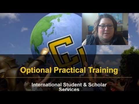Post Completion Optional Practical Training Info Session - S