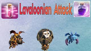 TH9 LavaLoonion PERFECT New 3 Star Attack Strategy | TH9 LavaLoonion Strategy | Clash Of Clans
