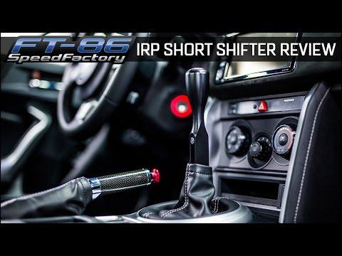 FT86SpeedFactory - IRP Short Shifter Install & Review