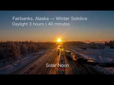 image for WATCH: Alaska Winter Solstice Timelapse