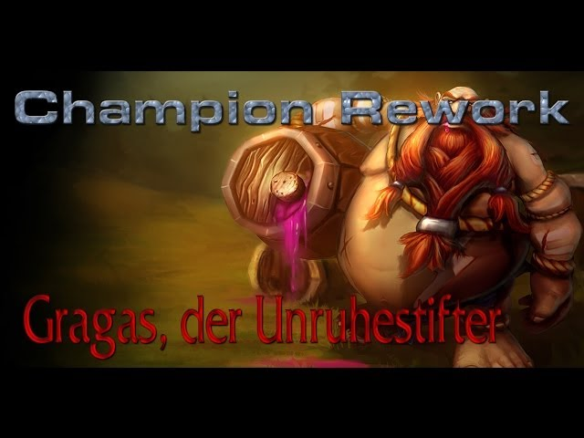 GRAGAS Rework : der Unruhestifer - PBE Gameplay (German/HD)