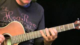Guitar Lesson - Acoustic Blues ( Cool rhythm and fast runs )