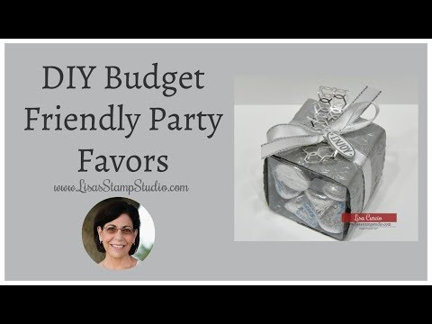 DIY Budget Friendly Party Favors