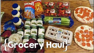 Large Family Mini Grocery Haul ║ January 2018 thumbnail