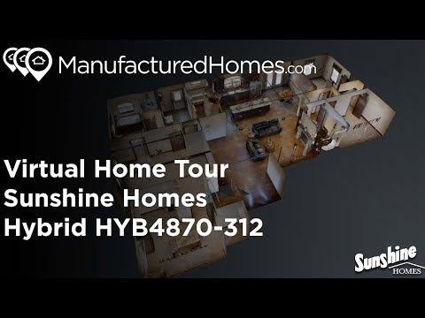 3D Home Tour - Manufacturedhomes.com - SunshineHomes Hybrid HYB4870-312
