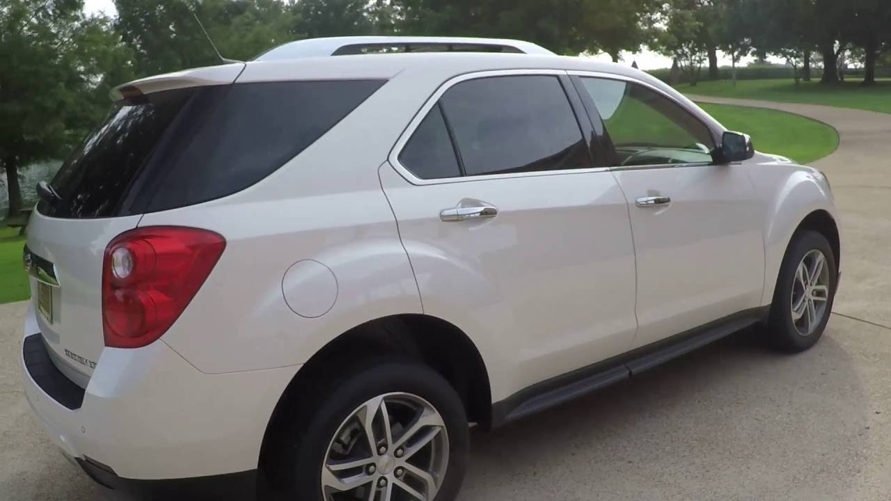 hd video 2014 chevrolet equinox fwd ltz white diamond loaded used