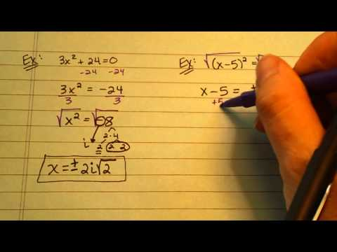Miller Solve by Square Root Method