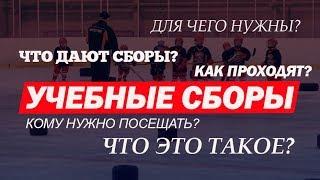"""Учебные сборы юных хоккеистов в школе """"Hockey Way"""""""