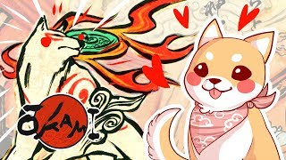 An Actual Dog Plays Ōkami