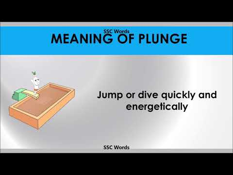 plunge---improve-english---meaning-and-5-sentences---gre-/-cat-/-gmat-word---ssc-words