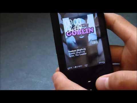 Cowon iAudio X7 чехол (пластик)