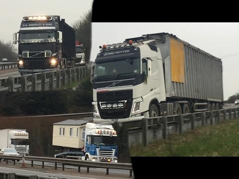   Truck Spotting On The A34   Newbury - East Isley  