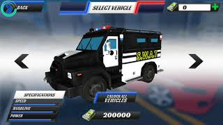 Police Car Driving: Criminal Chase (Tap - Free Games) Android Gameplay