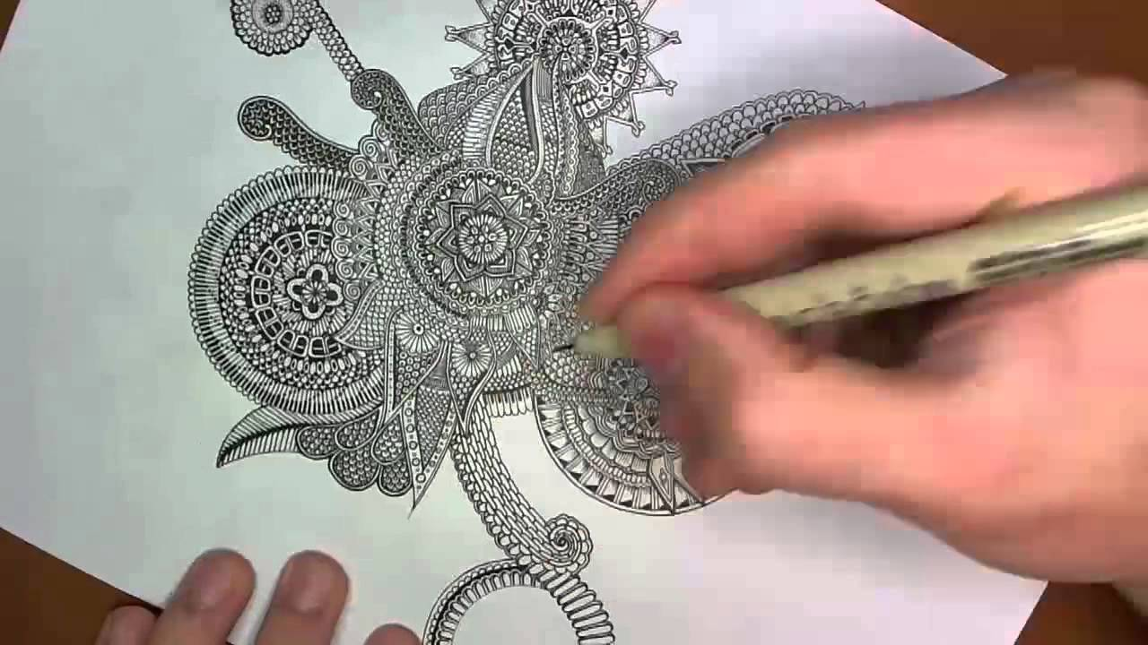 Epic Mandala Drawing (and thoughts about stealing art ...