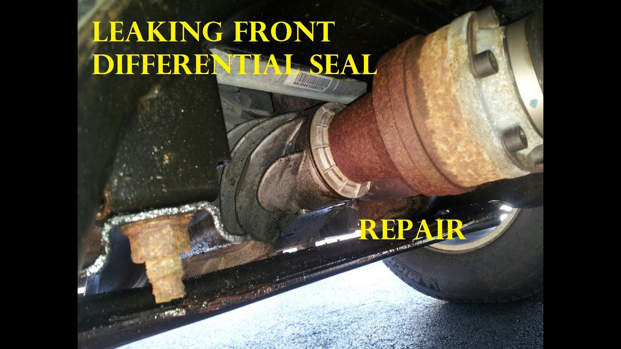 ford transfer case pinion seal replacement front differential [ 1280 x 720 Pixel ]