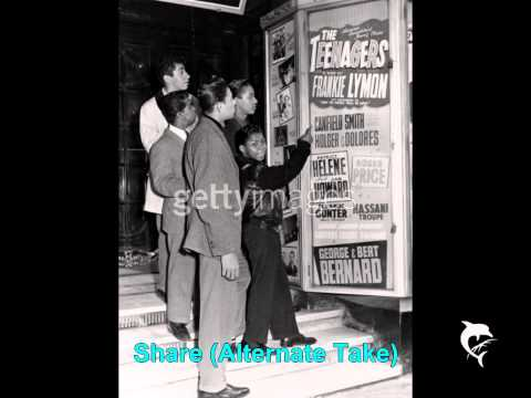 Frankie Lymon and The Teenagers - Share (Alternate Take)