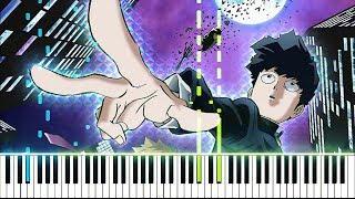 "【FULL】[Mob Psycho 100 II (Season 2) OP] ""99.9"" - MOB CHOIR feat. sajou no hana (Piano Synthesia)"