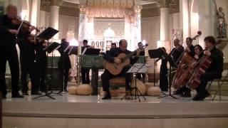 Carulli Guitar Concerto Op. 8 - The Nicholls Camerata - Ronaldo Cadeu, Guitar