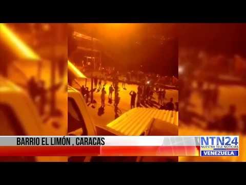 La noche más oscura de enero en Caracas