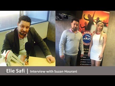 Suzan Hourani interviewing Elie safi