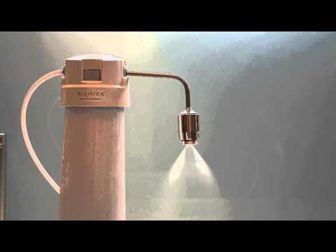 Schauberger Implosion Umwandlung von Druck in Sog mit Aquadea Kristall Wirbler