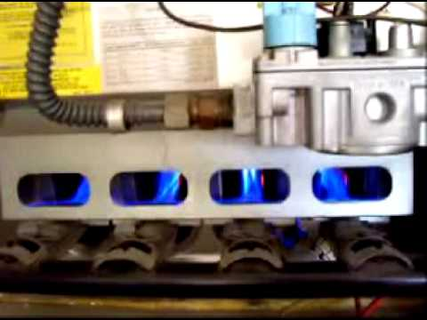Carrier 58gs Furnace Start Up Youtube
