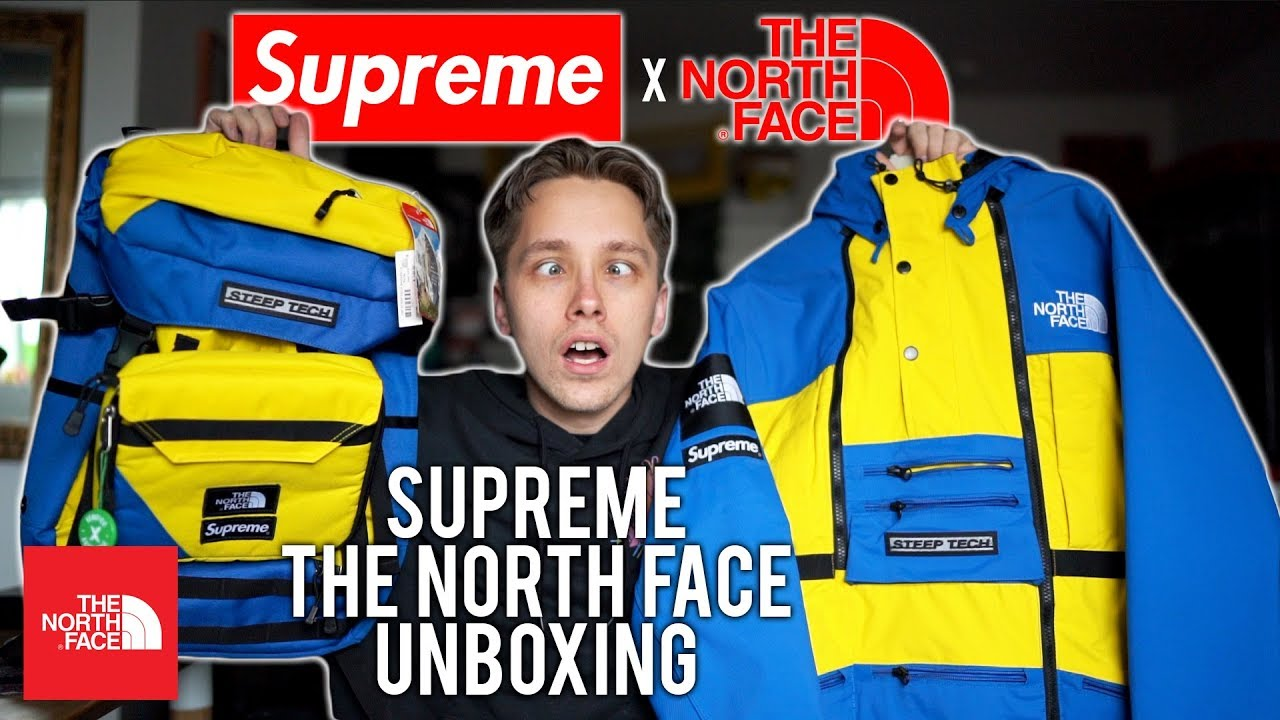 c978698c20 THE BEST SUPREME X THE NORTH FACE COLLABORATION - YouTube