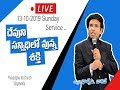 #1 Service Live | Rev. CHARLES P JACOB | PHILADELPHIA A.G. CHURCH | VIJAYAWADA.