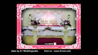 Wedding Mandap Design by A1 Weddingwalla A1wwMD05