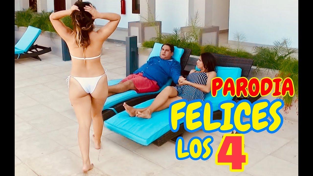 Parodia Maluma - Felices los 4 |  JR INN