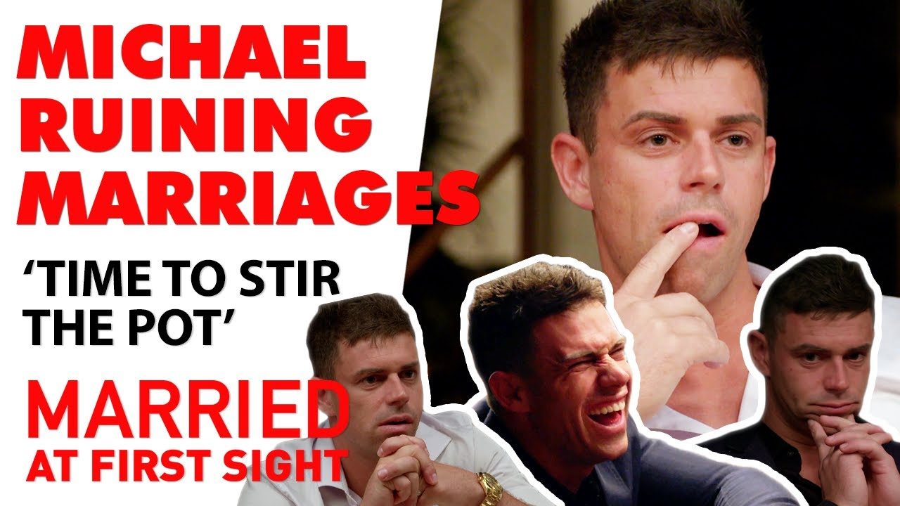 Michael meddling in the other couples relationships | MAFS 2020