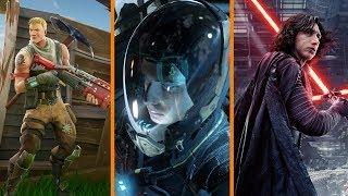 Parents Hire Fortnite Tutors + Star Citizen Pay 2 Win Upset + Star Wars Episode IX Underway