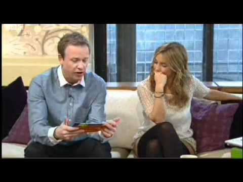 Being Human stars: Sinead Keenan and Lenora Crichlow on Something for the Weekend; 270311 Part 1