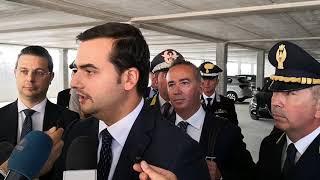 Il sottosegretario dell'Interno Carlo Sibilia ad Andria