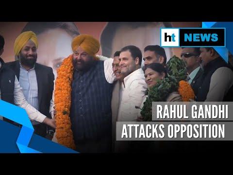 'They may even sell Taj Mahal': Rahul Gandhi attacks BJP at Delhi poll rally