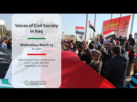 Voices of Civil Society in Iraq