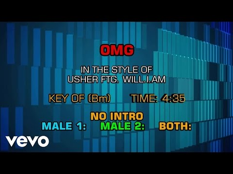 Usher - OMG (Karaoke Smash Hits Vol. 1)