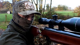 The Airgun Show – Rabbit, pigeon & squirrel hunting with Walther LGU, PLUS Rugged Bench on test