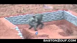 Chinese Soldier Hand Grenade Fail