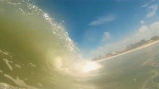 Praia do Abais 19/03, bom para o surf no inside com a maré cheia.