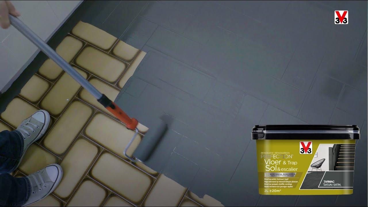 tutoriel peindre le carrelage au sol